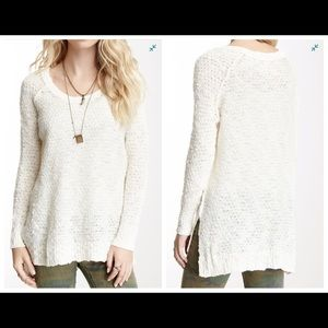 Free People Honeycomb Jeepster Pullover Sw…
